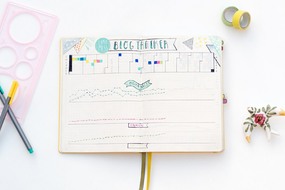 "Blog Tracker, visto en ""I am a Mess Blog"""