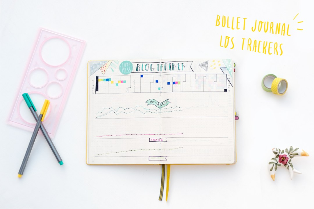 Bullet Journal: Los trackers