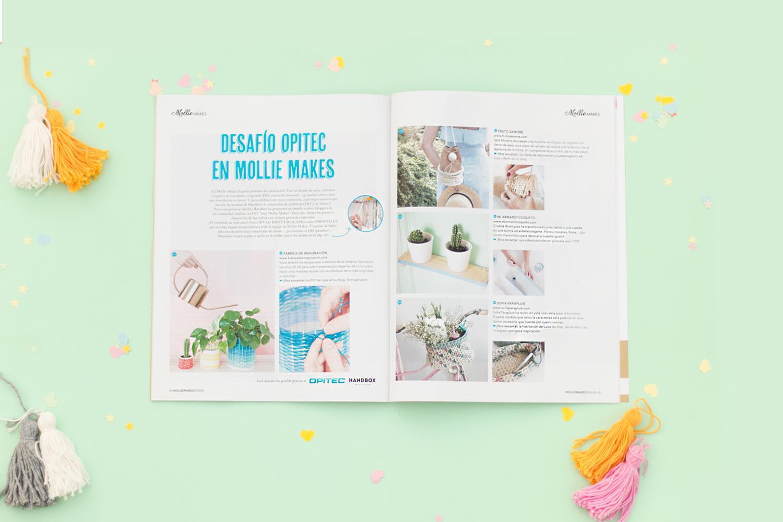 Revista Mollie Makes - edición española - visto en