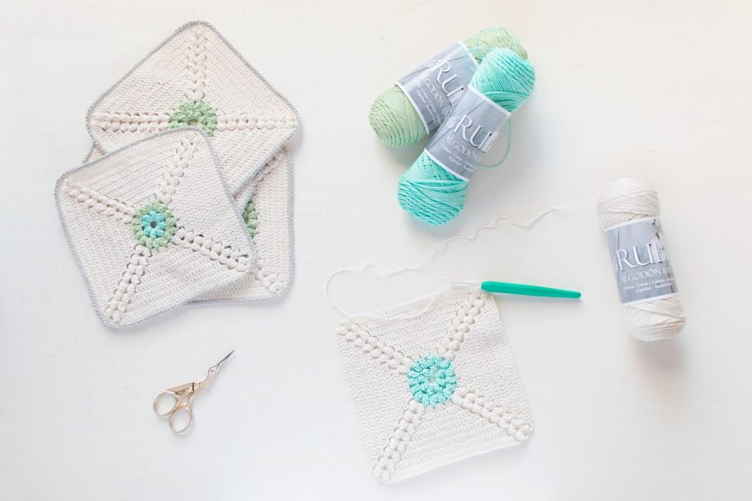 Colchas A Crochet Patrones