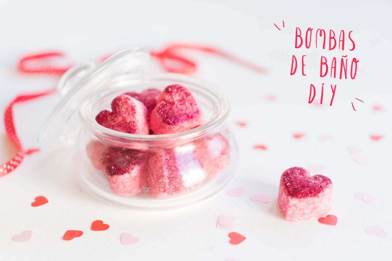 Bombas de baño DIY, especial San Valentín. Visto en