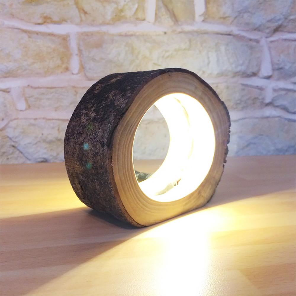 10 ideas con troncos y rodajas de madera, visto en