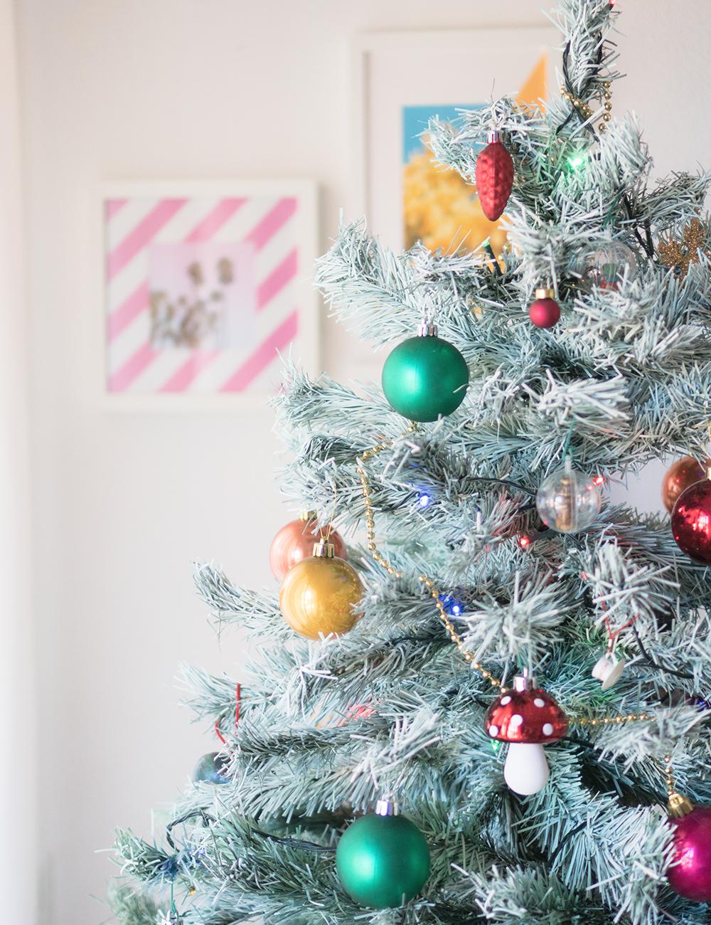 Como pintar el arbol de navidad, visto en IamaMess blog