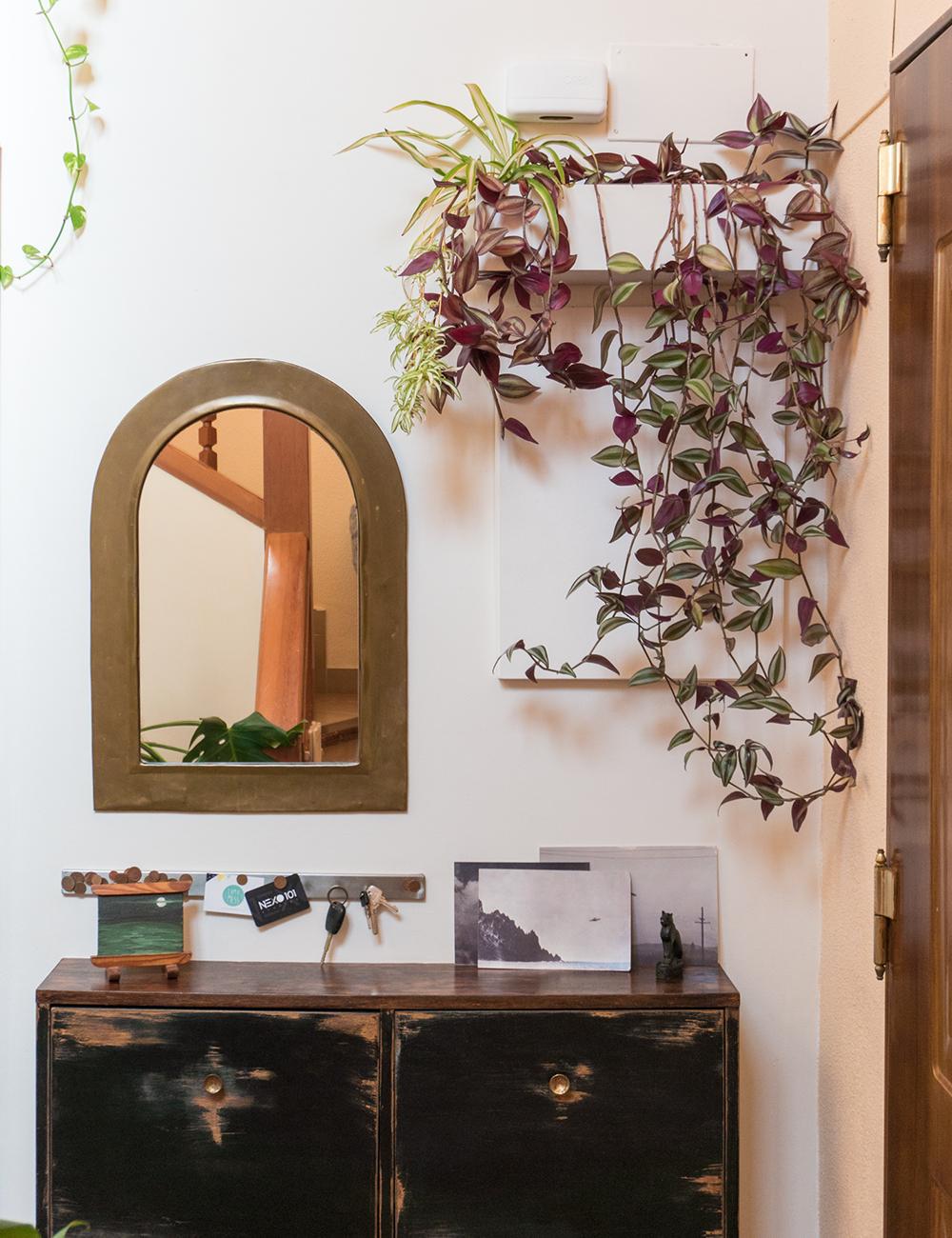 Jardinera colgante DIY, visto en IamaMess blog