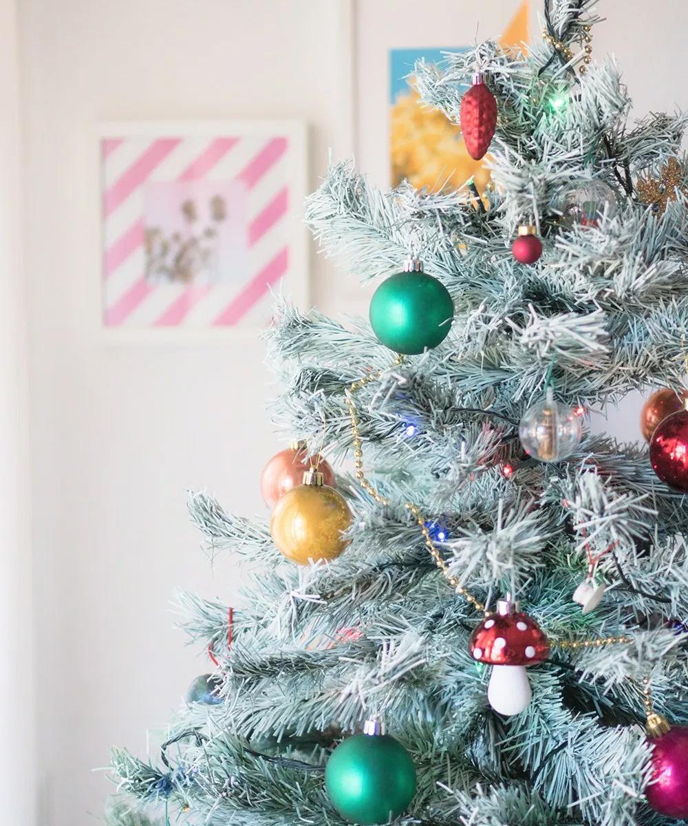 Cómo pintar el árbol de navidad