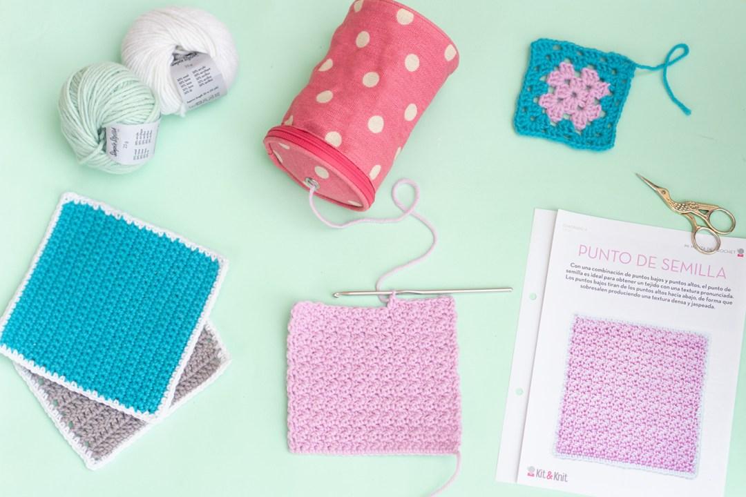 """Reseña de los kits de Knit&Knit, visto en """"I am a Mess Blog"""""""