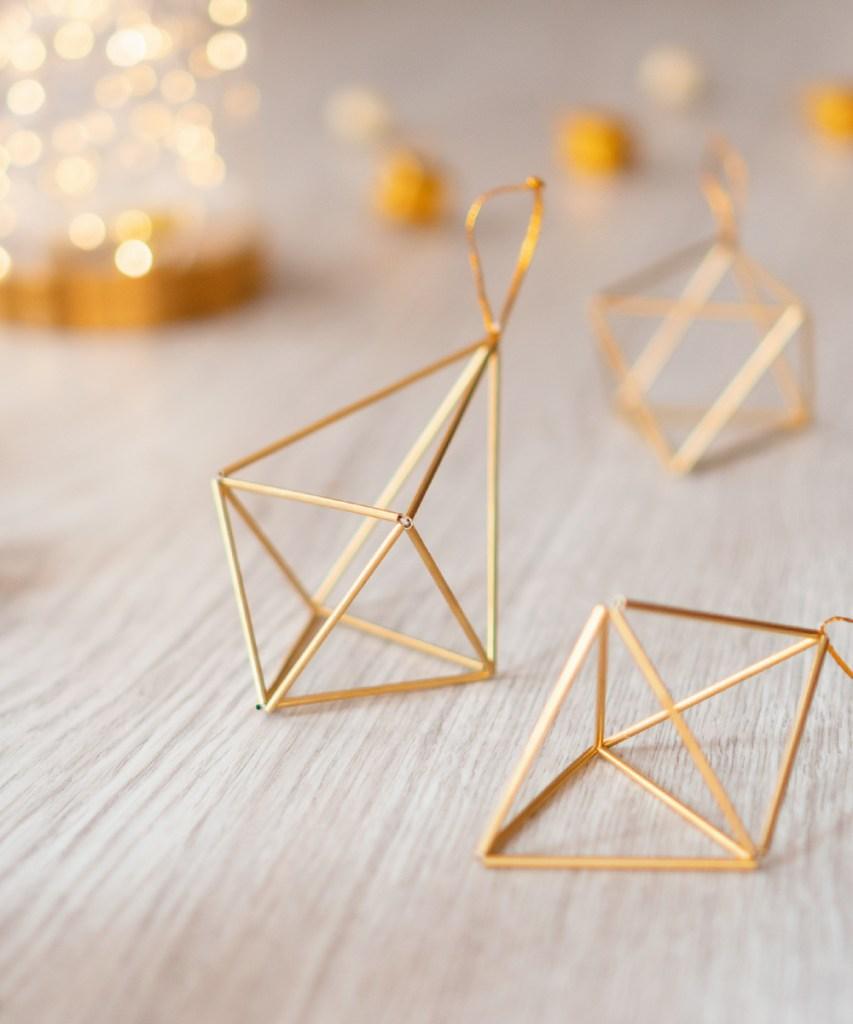 Paso a paso para realizar formas geométricas de latón