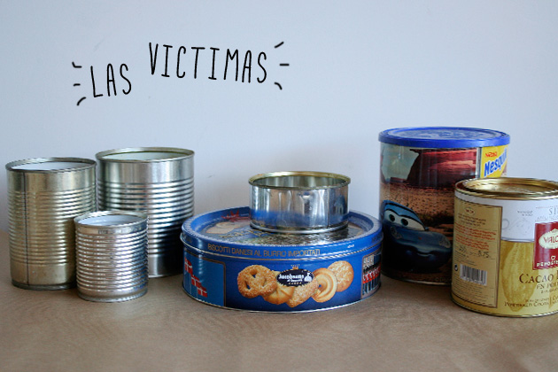 DIY ¡pinta tus latas! by I am a Mess