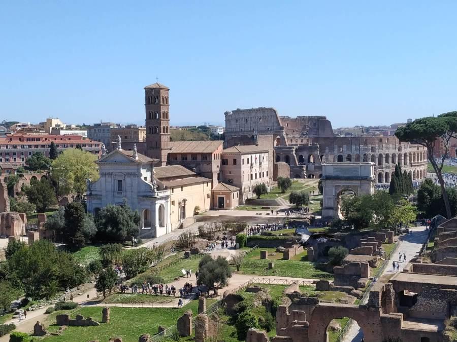 Los mejores monumentos romanos e iglesias de Roma