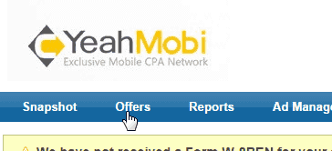 , Setting up a mobile offer on Voluum + HasOffers Platform (Yeahmobi)