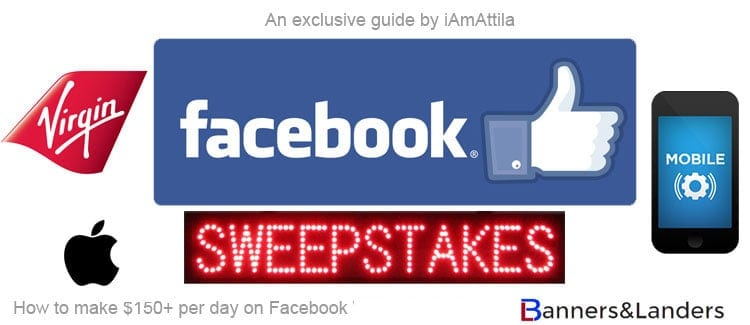FREEMIUM Guide] $150+ per day on Facebook running sweepstakes offers