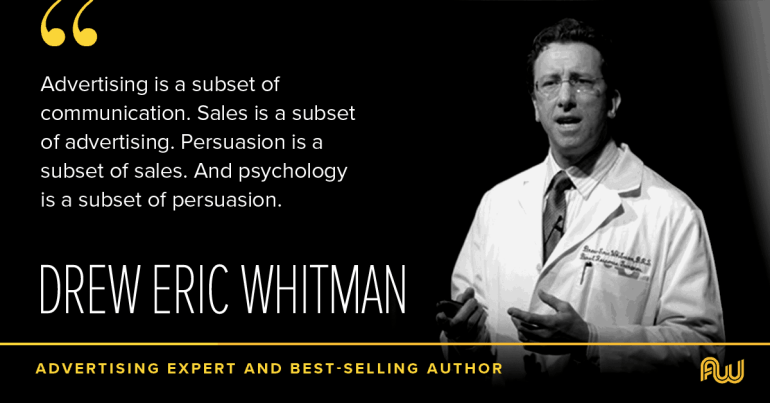 Cashvertising Author Drew Eric Whitman