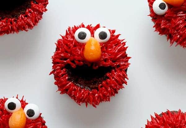 Elmo Cupcakes I Am Baker