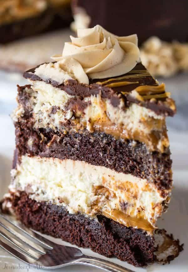 Easy Caramel Frosting Cake