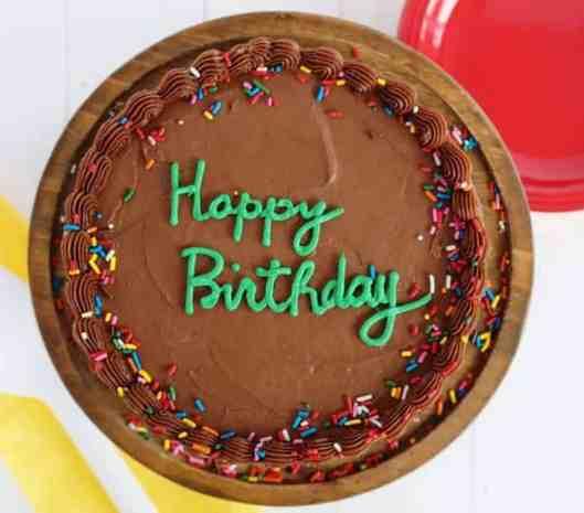 The Perfect Birthday Cake - I Am Baker