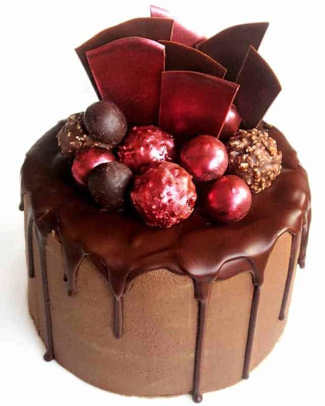 Double Chocolate Fudge Cake I Am Baker