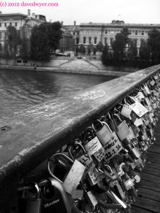 Pont De Arts Lovelocks