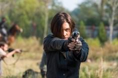 Lauren Cohan as Maggie Greene- The Walking Dead _ Season 7, Episode 16 - Photo Credit: Gene Page/AMC