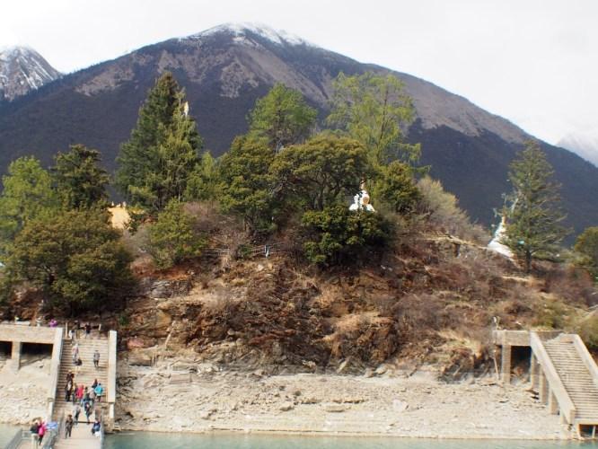 前往海拔五千多公尺高山—米拉雪山—巧遇西藏自行車隊—風塵揚西藏遊記之十三