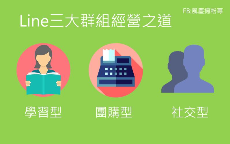 網路行銷風塵揚~~台灣人幾乎都有line組群,這些組群要如何去經營呢?~~讓你搞懂line三大組群經營手法