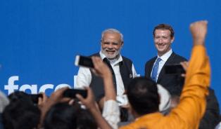 Mark Zuckerberg and Modi