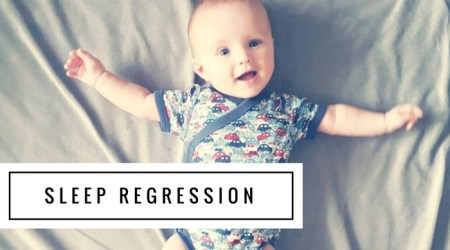 Four month sleep regression