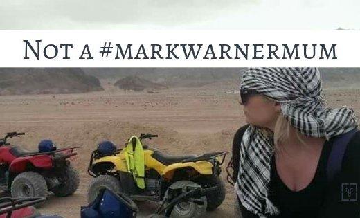mark warner mum
