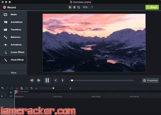 Camtasia Studio 2018.0.6 Crack With Serial Keygen {Mac+Win}