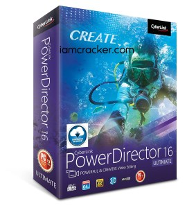 CyberLink PowerDirector 16.0.2816.0 Crack Full Activation Key