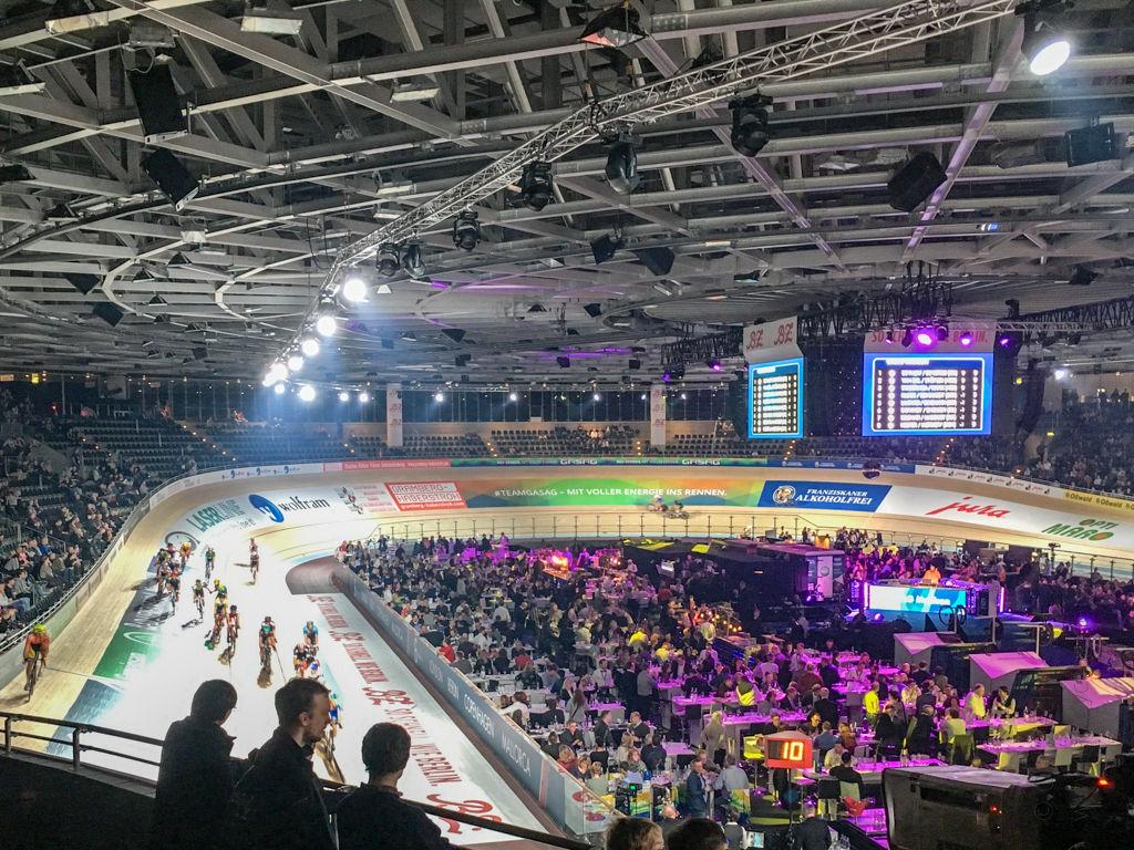 Das Velodrom in Berlin beim Sechstagerennen 2018
