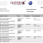 Qatar Airways Booking to Cape Town
