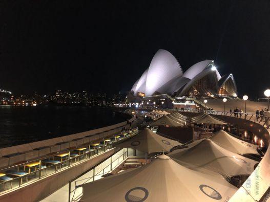 Blick auf das Opernhaus in Sydney