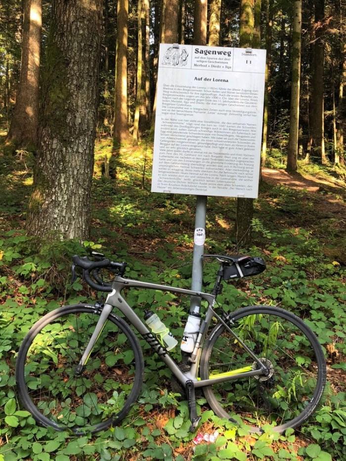 Rennrad Saisonfinale Bodensee: Am Lorenapaß