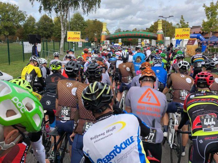 RiderMan in Bad Dürrheim: Vor dem Start der 2. Etappe