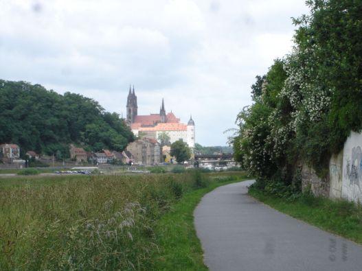 Der Dom zu Meißen in Sicht