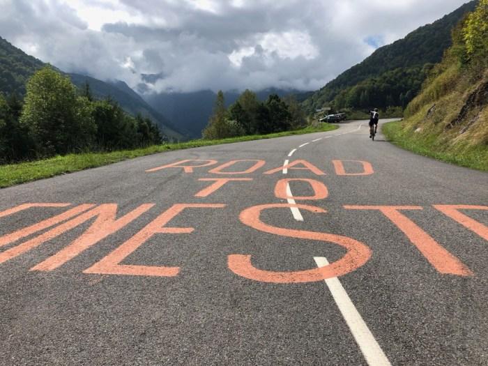 Anstieg zum Col de Monté