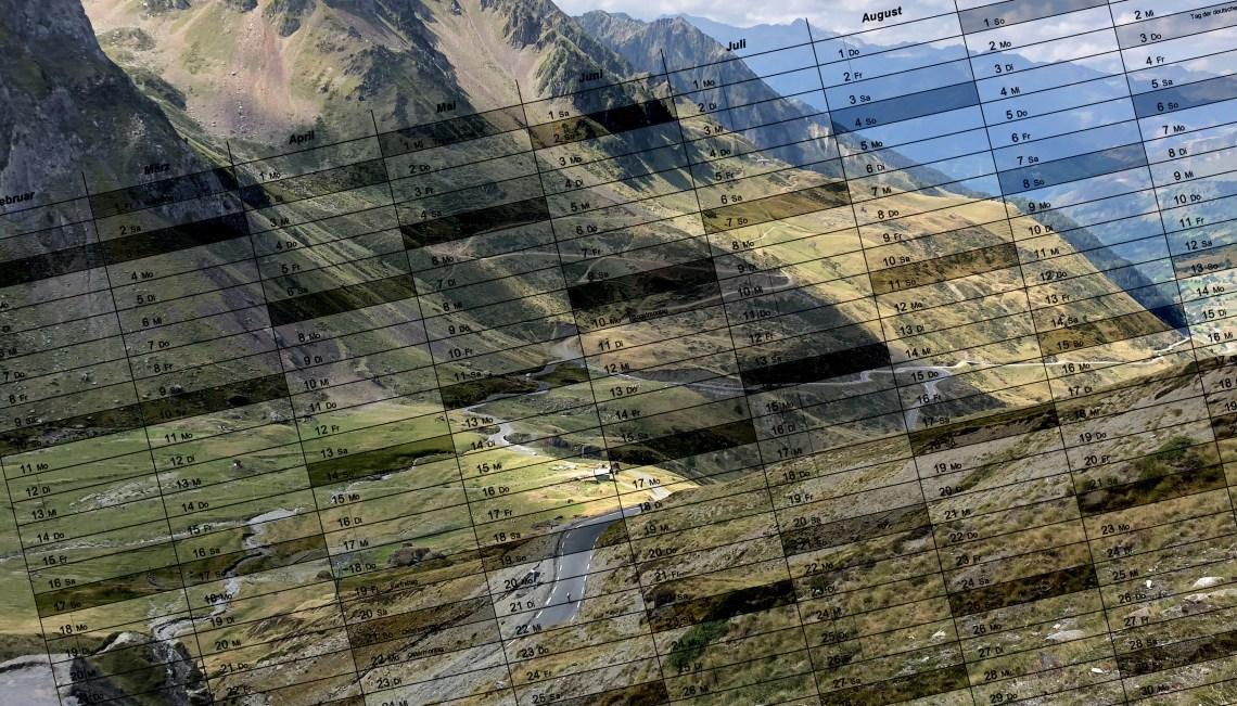 Veranstaltungskalender Rennrad-Titelbild
