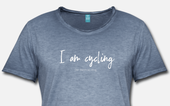 T-Shirt I am cycling aus dem Shop