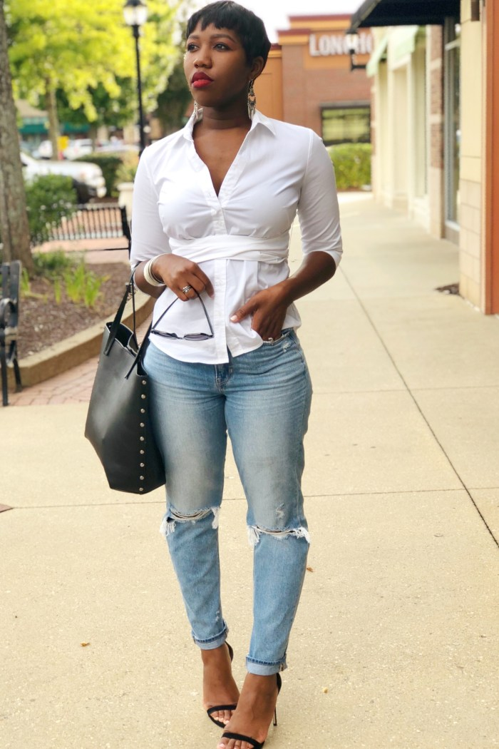 A Timeless Essential for Every Woman's Wardrobe: The Crisp White Shirt