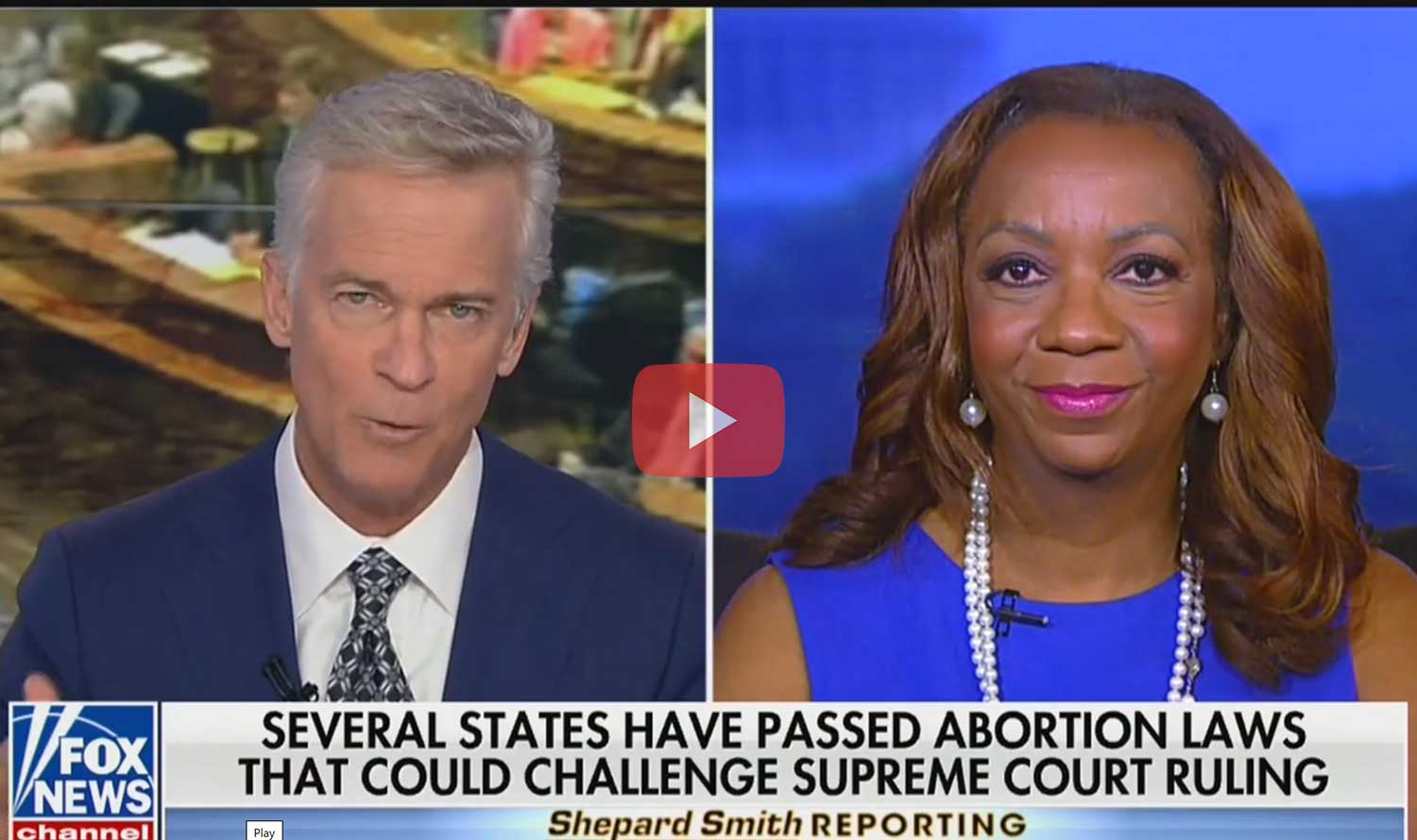 Fox News Shepard Smith Reporting - Debbie Hines on New Abortion Laws