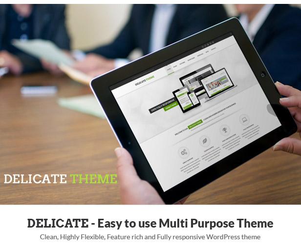 Delicate   Multipurpose WordPress - 1