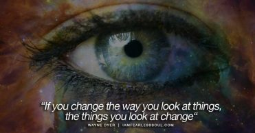 Image result for if you change the way you look at things