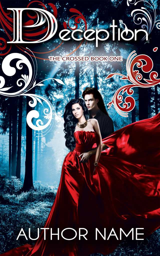 Perception Fantasy and Paranormal Romance Diverse Book Cover Design!
