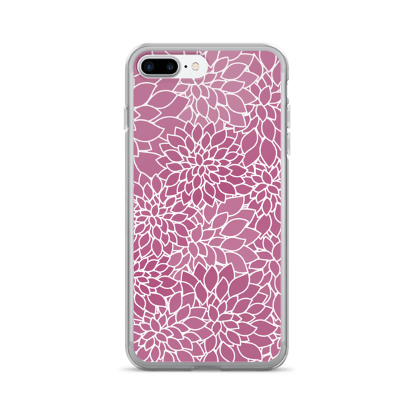 Abstract Leafy Purple iPhone 7/7 Plus Case