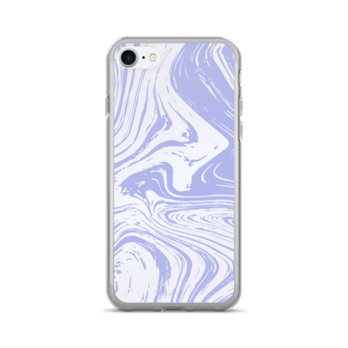 Marble Texture Swirl Light Toned iPhone 7/7 Plus Case