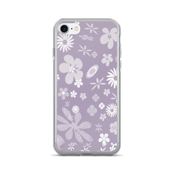 Floral Pale Purple iPhone 7/7 Plus Case