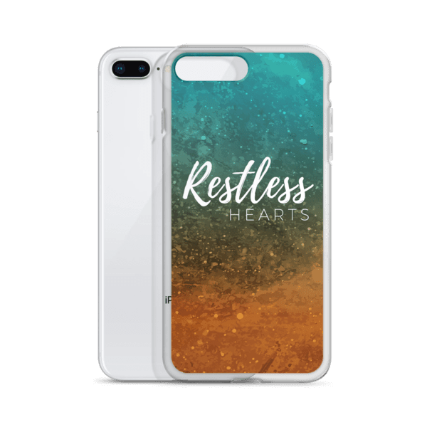 Restless Hearts iPhone 7/8/X Case