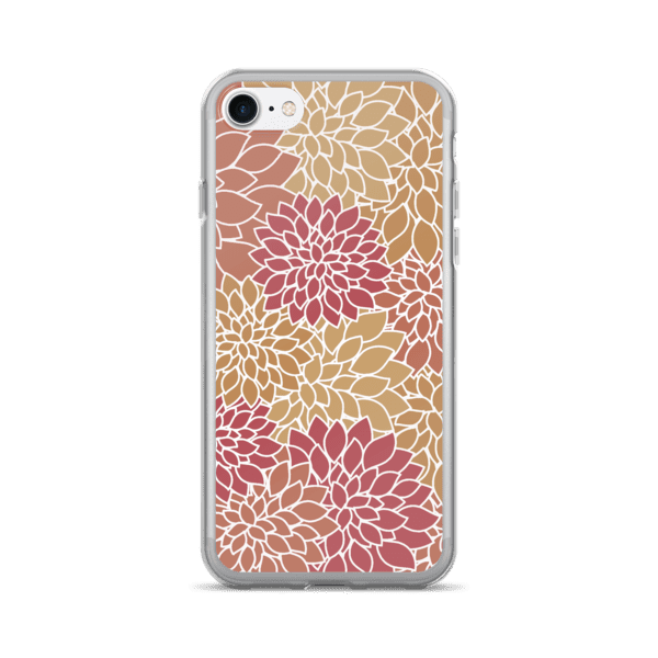 Abstract Leafy Multi-color iPhone 7/7 Plus Case