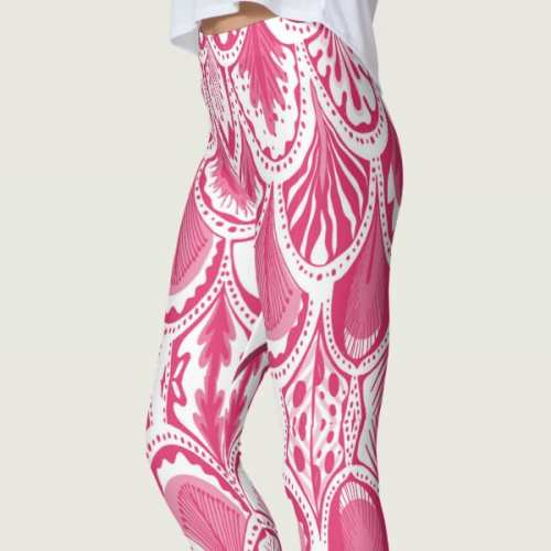 Wicked Heart Shaped Curvy Women's Leggings