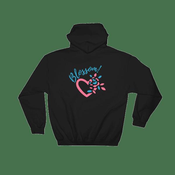 Blossom Heart Petals Hooded Sweatshirt Women's and Men's Hooded Sweatshirt